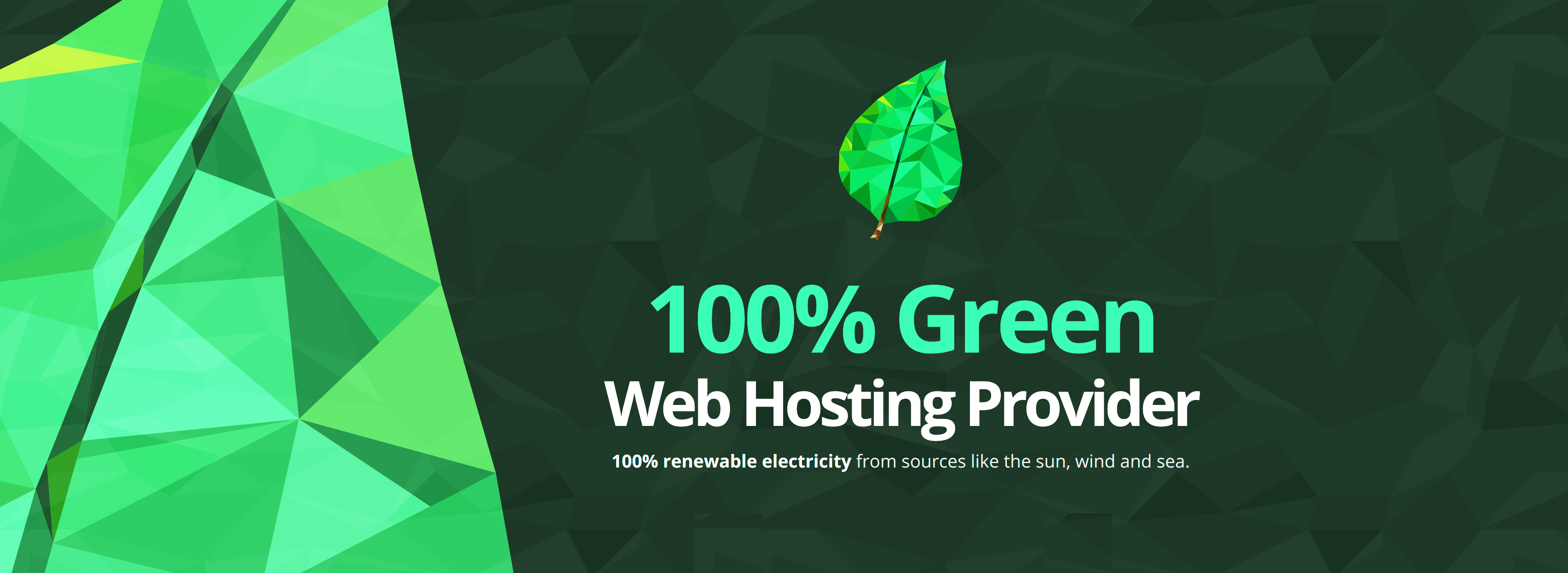 Green energy business hosting